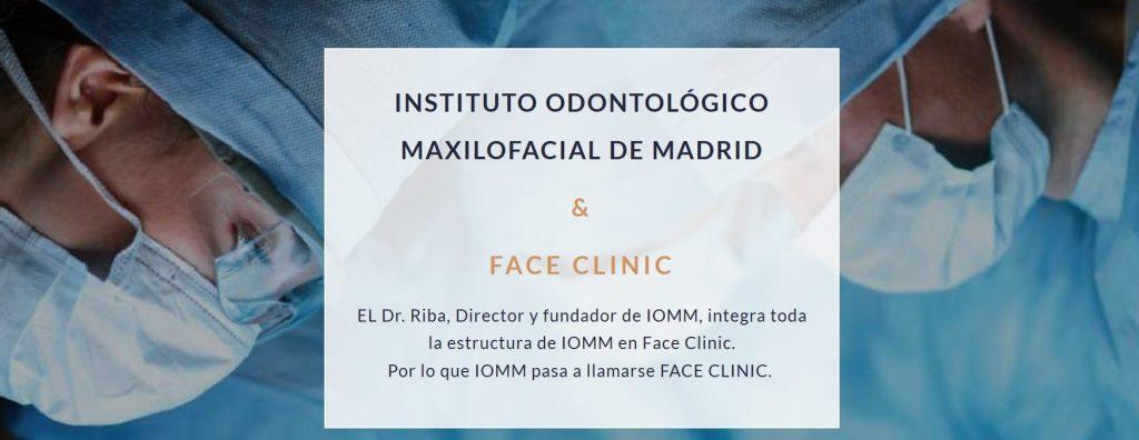 centro médico con la última tecnología en maxilofacial