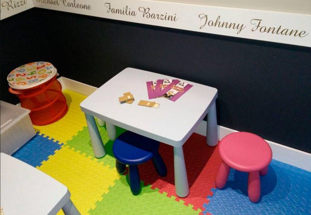 restaurante familiar con zona infantil