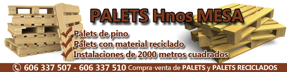 precio palets usados Madrid