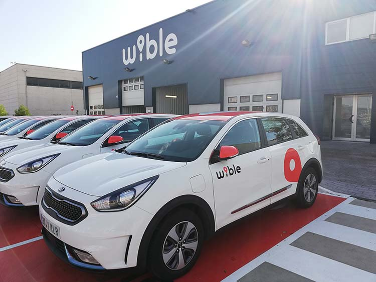 wible carsharing en madrid