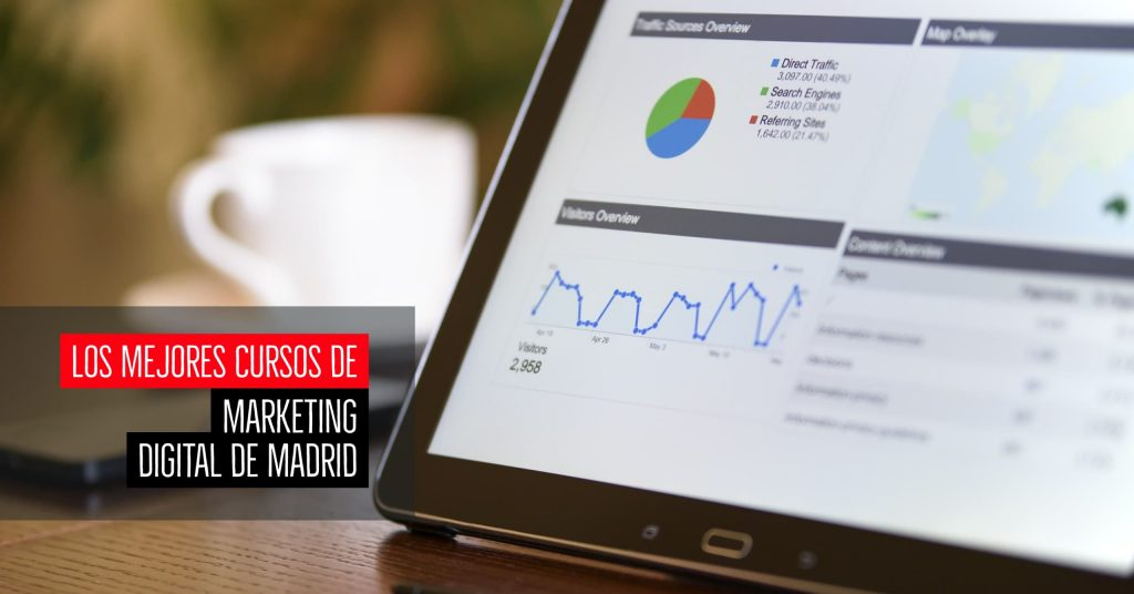 Los mejores cursos de marketing digital de Madrid