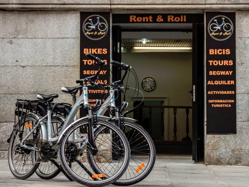 Rent and Roll alquiler bicicletas madrid barato
