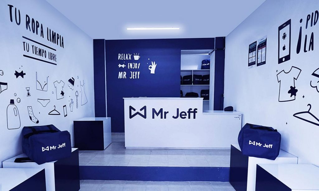 Mr Jeff lavandería tintorería a domicilio en Madrid